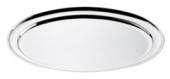 Platou oval inox cu bordura 50cm