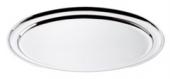 Platou oval inox cu bordura 40cm